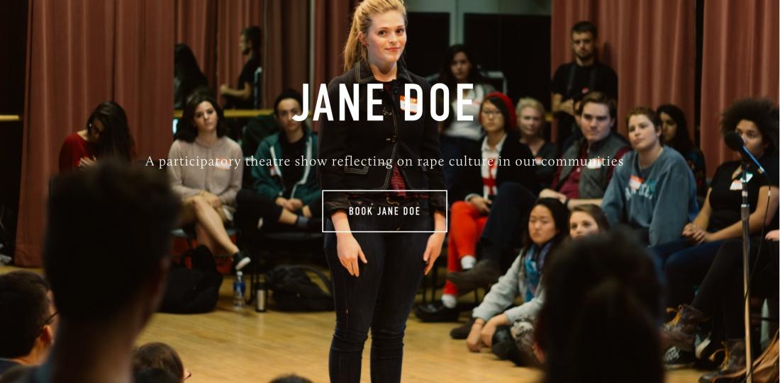 Jane Doe banner